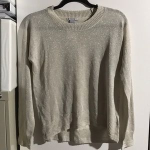 H&M champagne long sleeve top